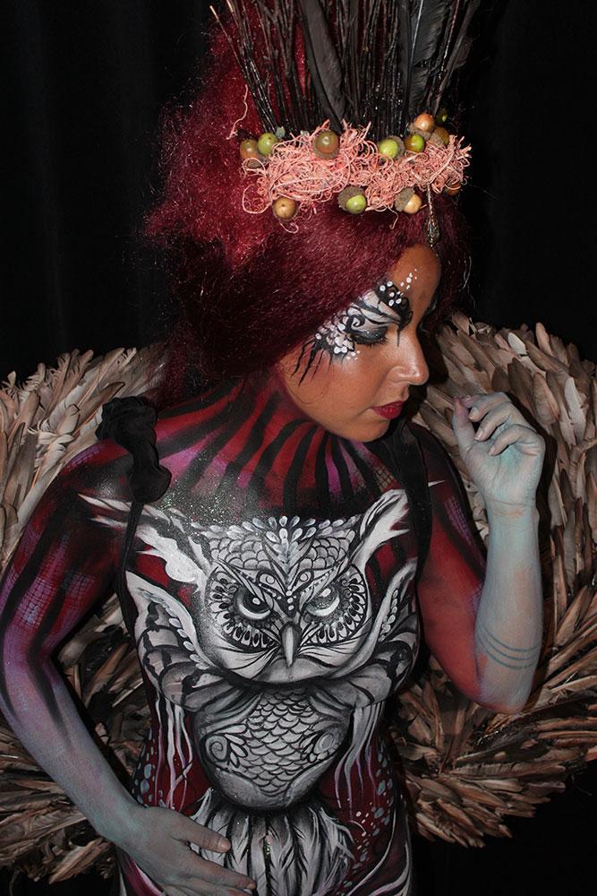 bodypaint-owlqueen