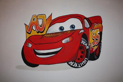 cars-muur
