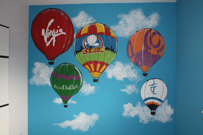luchtballon-muur